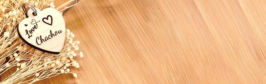 médaille en bois